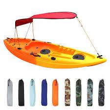 Universal <b>Kayak Boat Canoe Sun Shade</b> Canopy Awning Top Cover ...