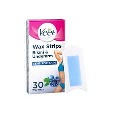 veet wax strips with easy gel sensitive