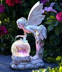 solar garden decor solar yard decor color solar light solar light globe fairy statue color changing