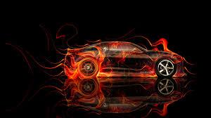 chevrolet camaro fire abstract car