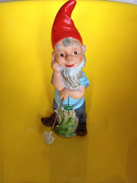 vtg german heissner garden gnome 14 5 dwarf 914 west germany plastic elf pixie