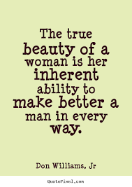 Quotes On True Beauty Best of Quotes About Woman's True Beauty 24 Quotes