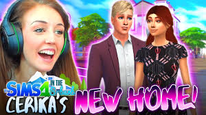 👫CERIKA'S NEW LIFE!👫 (The Sims 4 IN THE SUBURBS #27! 🏘) - YouTube