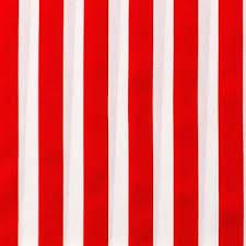 Red & White Stripe Apparel Fabric