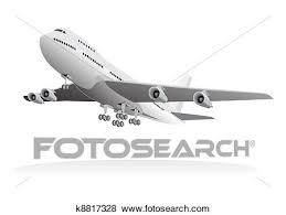乗客 航空機 去ること 地面 クリップアート