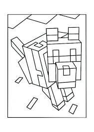 Coloring Pages Minecraft Coloring Pages Herobrine Printable