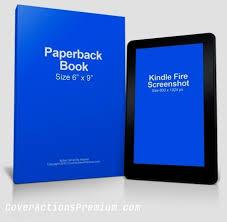 kindle fire ebook reader mockup free