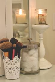 brush holder ikea makeup storage ideas check it out middot bathroom refresh daily dose of darling