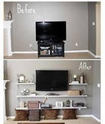 tv display ideas. Wonderful Display TV Idea Instead Of Standard Stand Living Room And Tv Display Ideas Pinterest