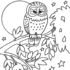 Owl Coloring Pages Coloring Page 16 Free Printable Coloring