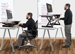 adjule desk riser diy harper noel homes stand for health inside sit to ideas 7