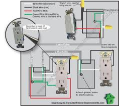 switched outlet wiring diagram electrical outlet wiring diagram Outlet Wiring Diagram #42