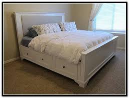 Storage Bed King Size Platform Storage Bed Plans King Size Platform