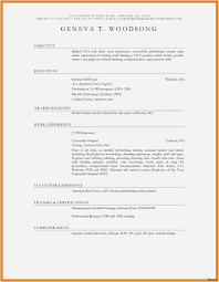 How To Type Up A Resume New Template Fresh How To Write A Really