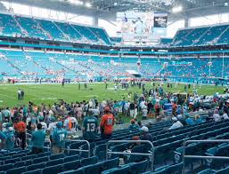 Miami Dolphins Hard Rock Stadium Seating Chart Hard Rock Stadium Section 150 Seat Views Seatgeek