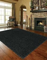 gy extra large black area rug big large black rug x