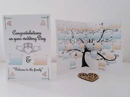 Celtic Tree Chart Family Tree Chart Wedding Card Celtic Card