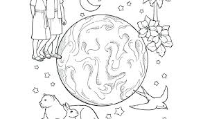 Coloring Pages Creation Coloring Pages Lds Free For Preschoolers