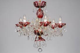 small red chandelier for 2019 a small red crystal chandelier decorated with swarovski ts gallery