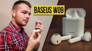 БЕСПРОВОДНЫЕ НАУШНИКИ <b>BASEUS W09</b> - ОБЗОР и опыт ...