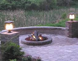 60 inch fire pit kit new 36 inch round gas fire pit insert with flat pan