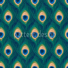 Peacock Pattern Interesting Thousand And One Peacock Feathers Repeating Pattern