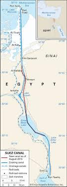 Suez Canal History Map Importance Facts Britannica