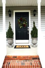 Front Doors: mesmerizing front door planter ideas. Front Door ...