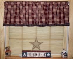 Primitive Curtains For Kitchen Primitive Curtains Etsy