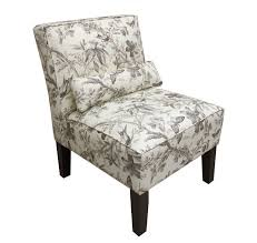 accent chair bedroom armless accent chair