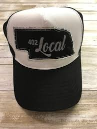 402 Local- Black Trucker Hat \u2014 Ash \u0026 Co.