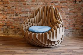 Corrugated Cardboard Furniture Mc 205 Recycled Cardboard Armchair L Crowdyhouse