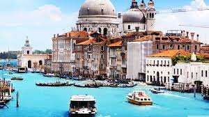 Travel, Grand Canal in Venice, Europe ...