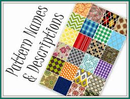 Pattern Names Gorgeous Glossary Of Design Terminology 48 Patterns Reality Daydream