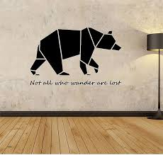 wall decals bear wall decals best of geometric bear wall decal geometric animals decor bear wall on geometric bear wall art with wall decals bear wall decals best of geometric bear wall decal