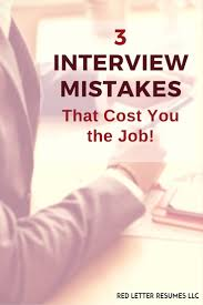 follow up after a job interview this email for your 3 interview mistakes that can cost you the job