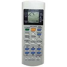 Amazoncom Replacement For Panasonic Air Conditioner Remote Air Conditioning Remote