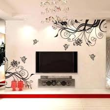 wall art decor ideas butterfly sticker decoration adorable interior design suitable decals flowers and butterflies on pretty wall art decor with wall decals flowers and butterflies quillink