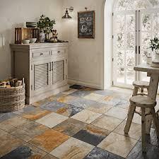Image Ceramic Tile Wickes Multicolour Slate Effect Tile 333 333mm Wickes Floor Tiles Wickescouk