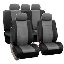 premium pu leather seat covers full set