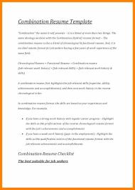 10 Combination Resume Templates Hostess Resume