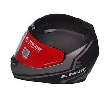 Ls2 Ff391 Piston Matt Black Grey Full Face Helmet