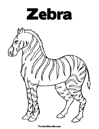 Small Picture Zebra Stripes Coloring Pages RedCabWorcester RedCabWorcester
