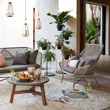 west elm outdoor furniture. The Huron By West Elm $699. This Modern Addition To Patio Furniture Outdoor C