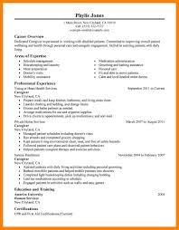 Caregiver Objective Resume Caregiver Objective Savebtsaco 16