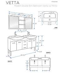 brilliant bathroom vanity height for vessel sinks kahtany inside standard height for bathroom vanity