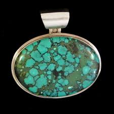 home sterling silver pendants gem pendants real large turquoise pendant necklace sterling silver 92 5