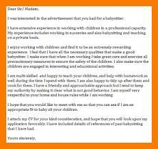 10 best cover letter examples 9 10 babysitter cover letter examples tablethreeten com
