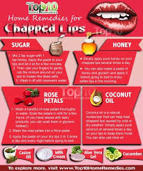 natural ways to get rid of chapped lips