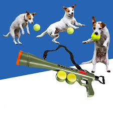 2019 funny dog tennis ball launch gun for ak47 pet toy remote sd agility equipment dog interactive toys pet supplies from nanfang2016